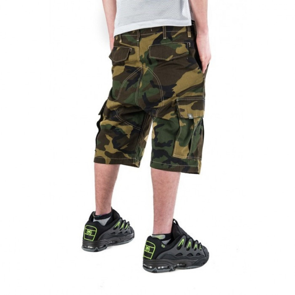 new lower prices performance sportswear lowest price Bermuda camouflage cargo mimetico THEBLUESKIN skate rap hip ...