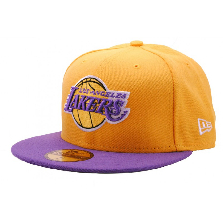 Cappello NEW ERA NFL ON FIELD 59FIFTY Los Angeles Lakers c4474539b692
